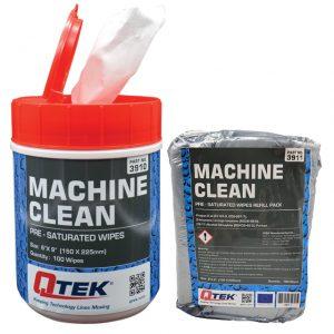 Machine Clean Wipes
